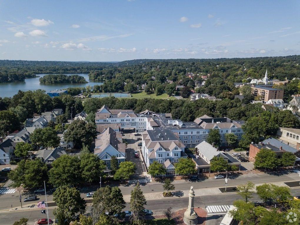 Aerial View of Arlington, MA