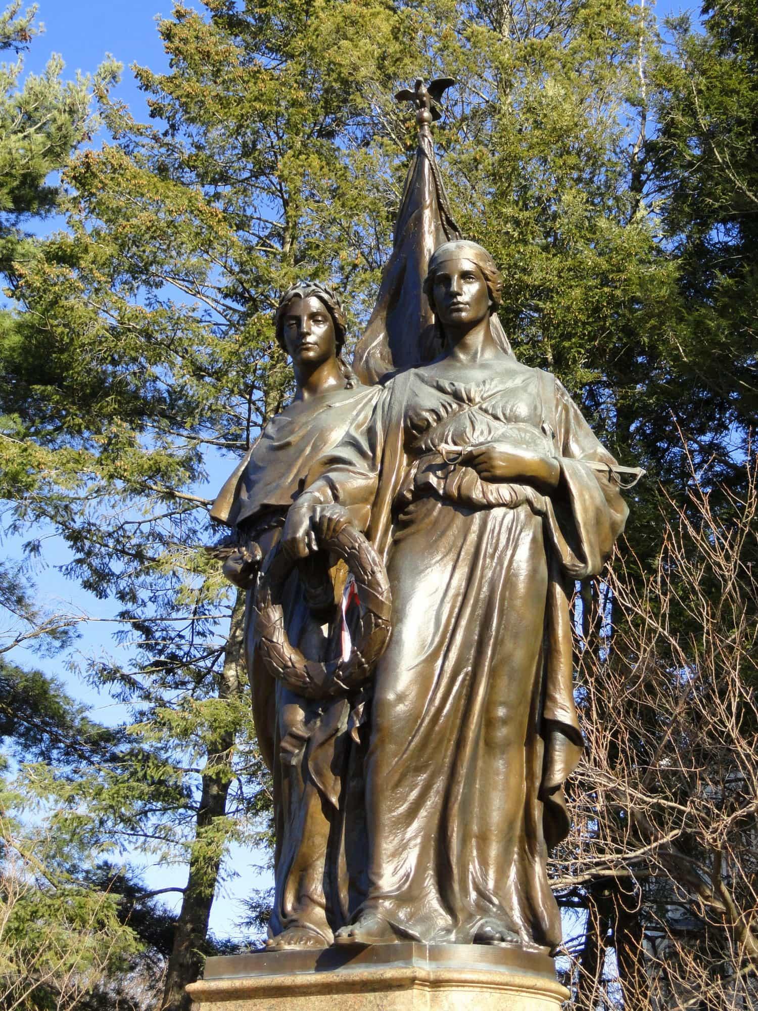 Statue in Winchester MA